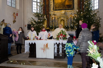 Christmette 2017 in Hardegg